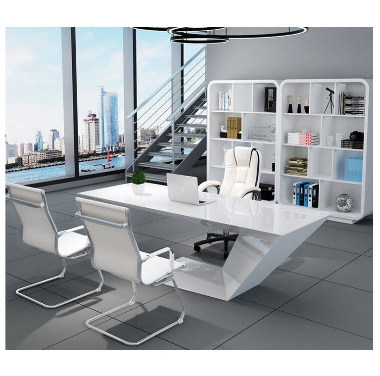 Modern office new design manager boss desk office cabinet